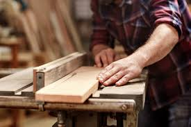Blacksmithing and woodworking